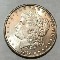 1878 7TF REV79 BU MORGAN SILVER DOLLAR. LOTUR18