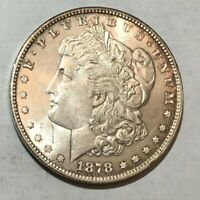 1878 7TF REV78 UNC MORGAN SILVER DOLLAR. LOTUR15