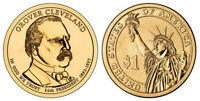 2012 P GROVER CLEVELAND 2ND TERM  PRESIDENTIAL ONE DOLLAR COIN U.S. MINT ROLLS