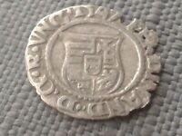 TUDOR PERIOD HAMMERED SILVER COIN 1547