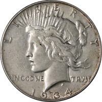 1934-S PEACE DOLLAR GREAT DEALS FROM THE EXECUTIVE COIN COMPANY