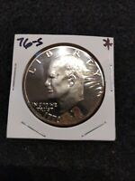 1976-S PROOF IKE DOLLAR,,TARNISHED,,,FROM US PROOF SET