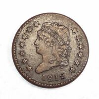 BARGAIN 1812 LARGE DATE CLASSIC HEAD LARGE CENT EXTRA FINE 1C
