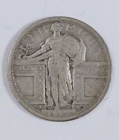 1917 TYPE-1 STANDING LIBERTY QUARTER VG  GOOD SILVER 25-CENTS