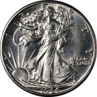 1944-D WALKING LIBERTY HALF GREAT DEALS FROM THE EXECUTIVE COIN COMPANY