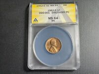 NEW DISCOVERY 1962 D DDO 001 LINCOLN MEMORIAL CENT  LY