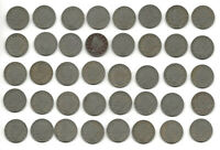 USA 40 READABLE DATE LIBERTY NICKEL 5C COIN COLLECTION FULL