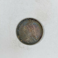 1889 GREAT BRITAIN 6 PENCE SIXPENCE