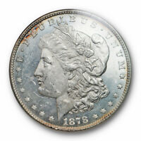 1878 8TF $1 VAM 1 MORGAN DOLLAR NGC MINT STATE 62 PL PROOF LIKE SPEAR POINT VARIETY N