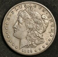 1889-S MORGAN SILVER DOLLAR.  NATURAL UNCLEANED A.U.  144868