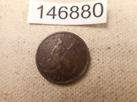 1868 GREAT BRITAIN FARTHING VERY NICE RAW UNSLABBED ALBUM GR