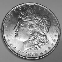 1878 8 TF  MORGAN DOLLAR  GEM BU 1