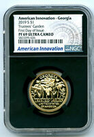 2019 S $1 GEORGIA NGC PF69 PROOF INNOVATION DOLLAR FIRST DAY