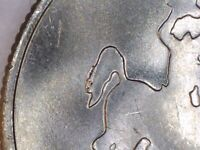 RARE 2007 P WYOMING MINT TAIL HORSE ERROR QUARTER   CUD