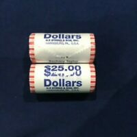 2009-PD ZACHARY TAYLOR PRESIDENTIAL DOLLARS 2 SEALED NF STRING BU ROLLS OF 25