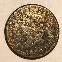 1810 CLASSIC HEAD LARGE CENT. GOOD, ROUGH. LOTNU10
