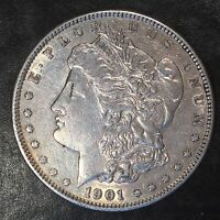 1901 MORGAN SILVER DOLLAR - CHECK THE  HIGH QUALITY SCANS F899