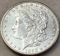 1898 S MORGAN SILVER DOLLAR UNCERTIFIED SHIPS FREE