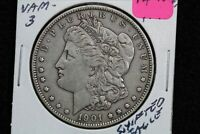 1901 MORGAN DOLLAR VAM-3 SHIFTED EAGLE 0VZ9