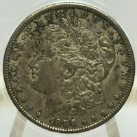 1886-S MORGAN SILVER DOLLAR RAW ORIGINAL BIN SHIPS FREE