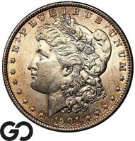 1901 MORGAN SILVER DOLLAR,  THIS , BRILLIANT UNCIRCULATED KEY DATE