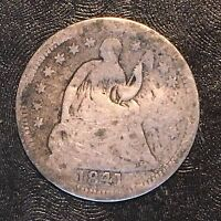 1841 SEATED HALF DIME - HIGH QUALITY SCANS E014