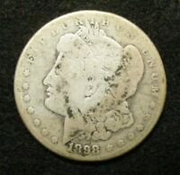 1898 S MORGAN DOLLAR SAN FRANCISCO MINT 40906-3