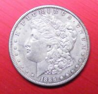 1889 S MORGAN CHOICE UNC   KEY DATE 30149 DOUBLED 'LL' ON REVERSE