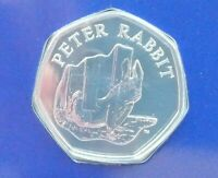 BEATRIX POTTER PETER RABBIT 15TH 50P COIN 2020 BU NEW SEALED 150TH ANNUAL 2016