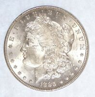 1885 MORGAN DOLLAR  BRILLIANT UNC SUPER SILVER DOLLAR