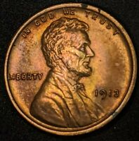 UNCIRCULATED 1913 LINCOLN CENT WHEAT CENT