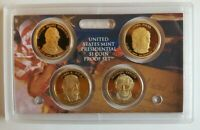 2009 S US MINT 4 COIN PRESIDENTIAL $1 COIN PROOF SET NO BOX OR COA POLK TAYLOR