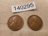 1930 D  1930 S LINCOLN WHEAT CENTS  COLLECTOR GRADE ALBUM COINS -  140295