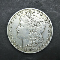 1892-S MORGAN SILVER DOLLAR $1 EF CONDITION LOW MINTAGE SN1021