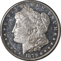 1879-O MORGAN SILVER DOLLAR PCGS MINT STATE 62DMPL CAC STICKER GREAT EYE APPEAL