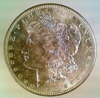 MINT STATE 1882-S MORGAN SILVER DOLLAR 050