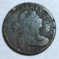 1802 DRAPED BUST LARGE CENT. GOOD, MICRO-POROSITY. LOTED3