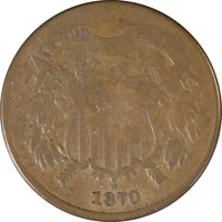 1870 TWO 2 CENT PIECE GREAT DEALS FROM THE EXECUTIVE COIN COMPANY