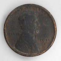 1914 D LINCOLN WHEAT CENT PENNY 1C FILLER 2376