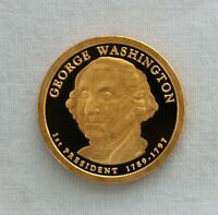 2007-S GEORGE WASHINGTON PROOF PRESIDENTIAL DOLLAR CAMEO
