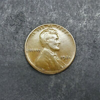 1924-S LINCOLN WHEAT CENT 1C AU KEY DATE SN1029