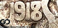 1918/7 D BUFFALO NICKEL STRONG OVER DATE HIGHLY COVETED KEY