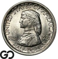 1921 MISSOURI COMMEMORATIVE HALF DOLLAR TOUGH THIS NICE GEM