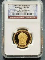 2009 S TAYLOR PRESIDENTIAL DOLLAR COIN NGC PF69 $1 UCAM COMBOSHIPDISCOUNTS