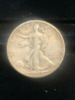 1934-S WALKING LIBERTY HALF BETTER DATE NO RESERVE EXTRA FINE