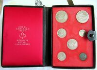 1971 SEVEN COIN SET ROYAL CANADIAN MINT RCM TWO ONE DOLLAR C