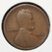1914-S LINCOLN WHEAT CENT - 06462