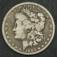 1884 UNITED STATES. LARGE SILVER
