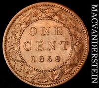 CANADA: 1859 ONE LARGE CENT   SEMI KEY  BETTER DATE  NR7745