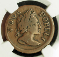1760 UNITED STATES  COLONIAL . COPPER